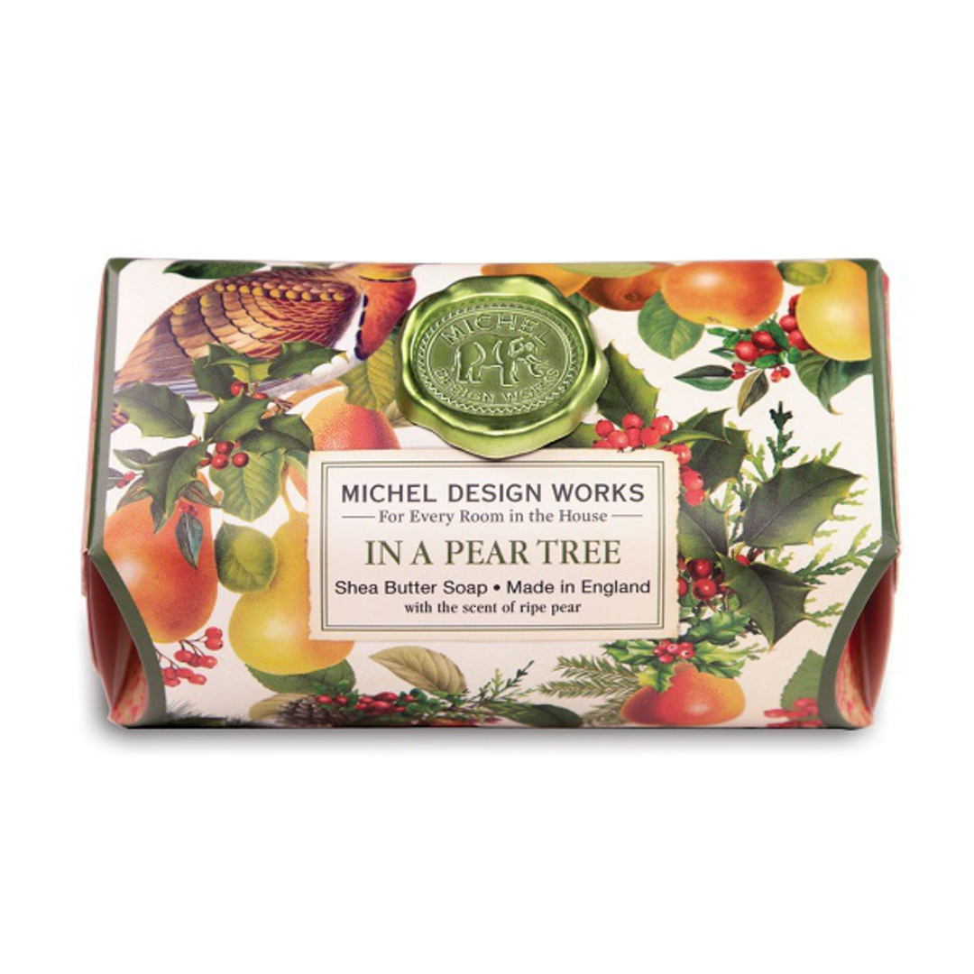Partridge in a Pear Tree Large Soap Bar image 0