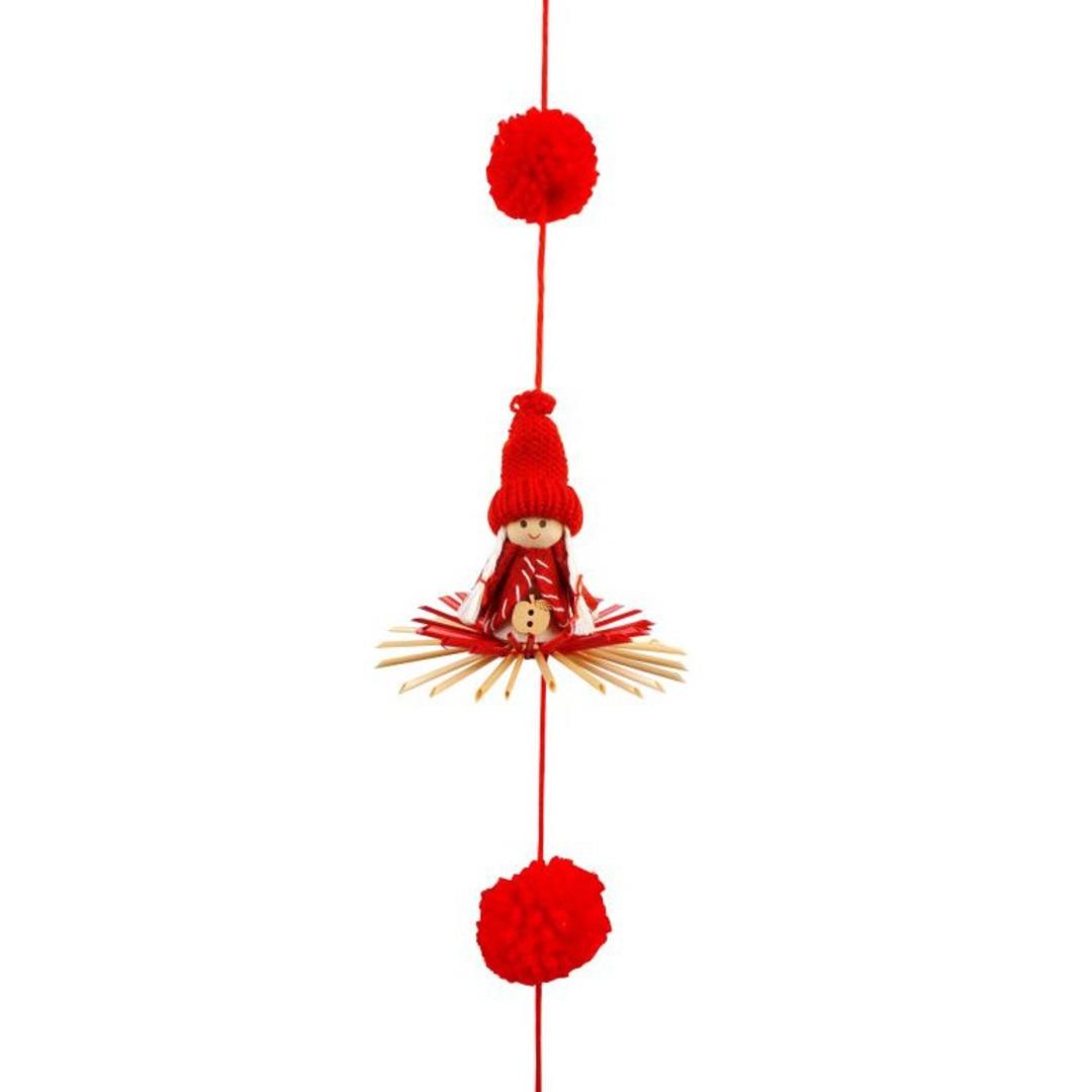 Stella w/ Red Hat  Garland 1.6 mtr image 0