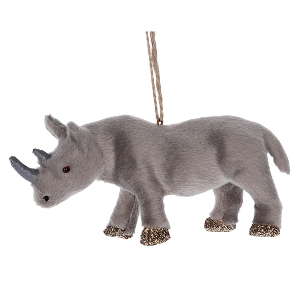 Faux Fur Rhino 14cm image 0