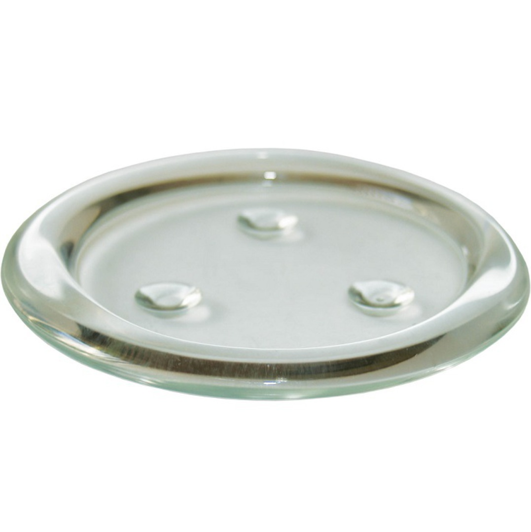 Glass Candle Coaster 12cm image 0