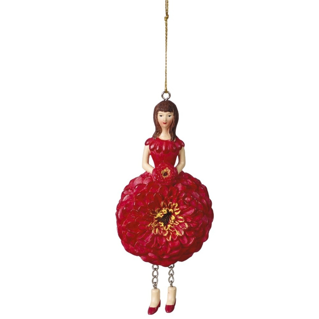 Flower Girl Zinnia Red 12cm image 0