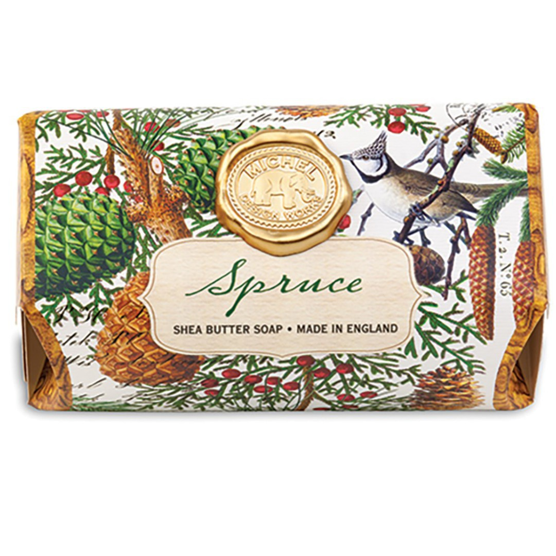 Christmas Spruce Large Soap Bar SOLD OUT image 0
