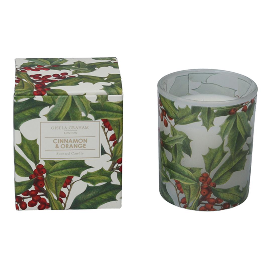 Holly, Candle Jar 8cm image 0
