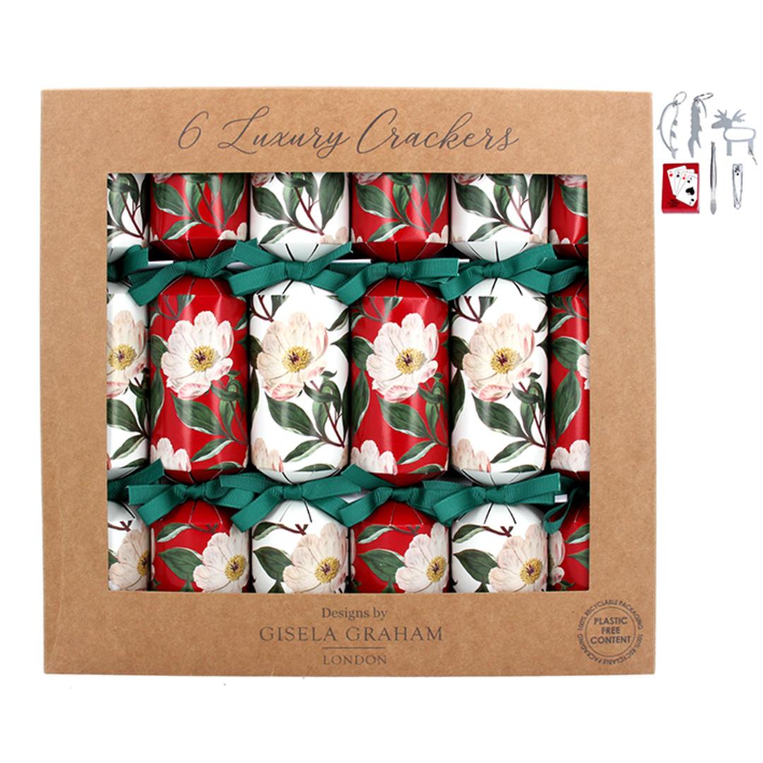 Christmas Crackers, Xmas Rose, Box 6 image 0
