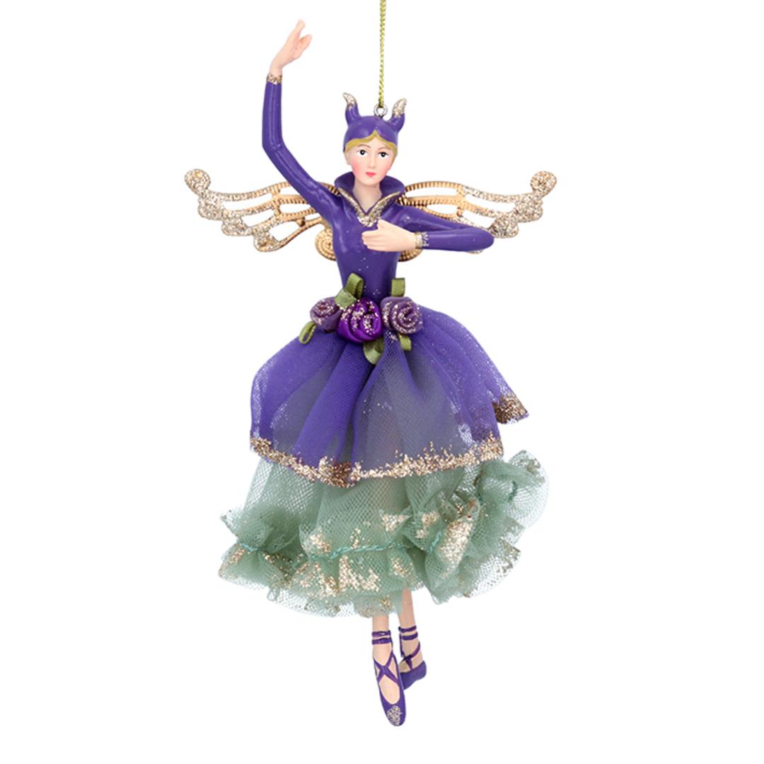 Resin Fabric Purple Fairy 18cm image 0