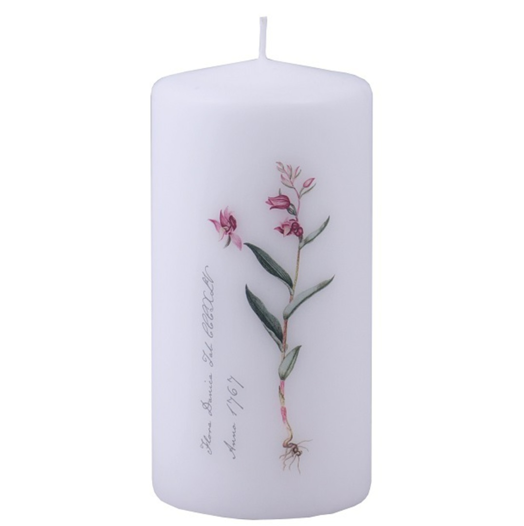 Flora Danica Pillar Candle, Forest Lilly image 0