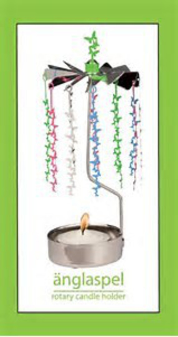 Rotary Candle Holder Butterfly Chain image 0