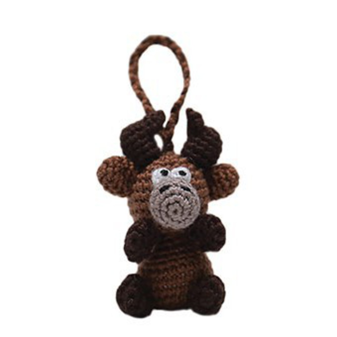 Mini Crocheted Reindeer image 0