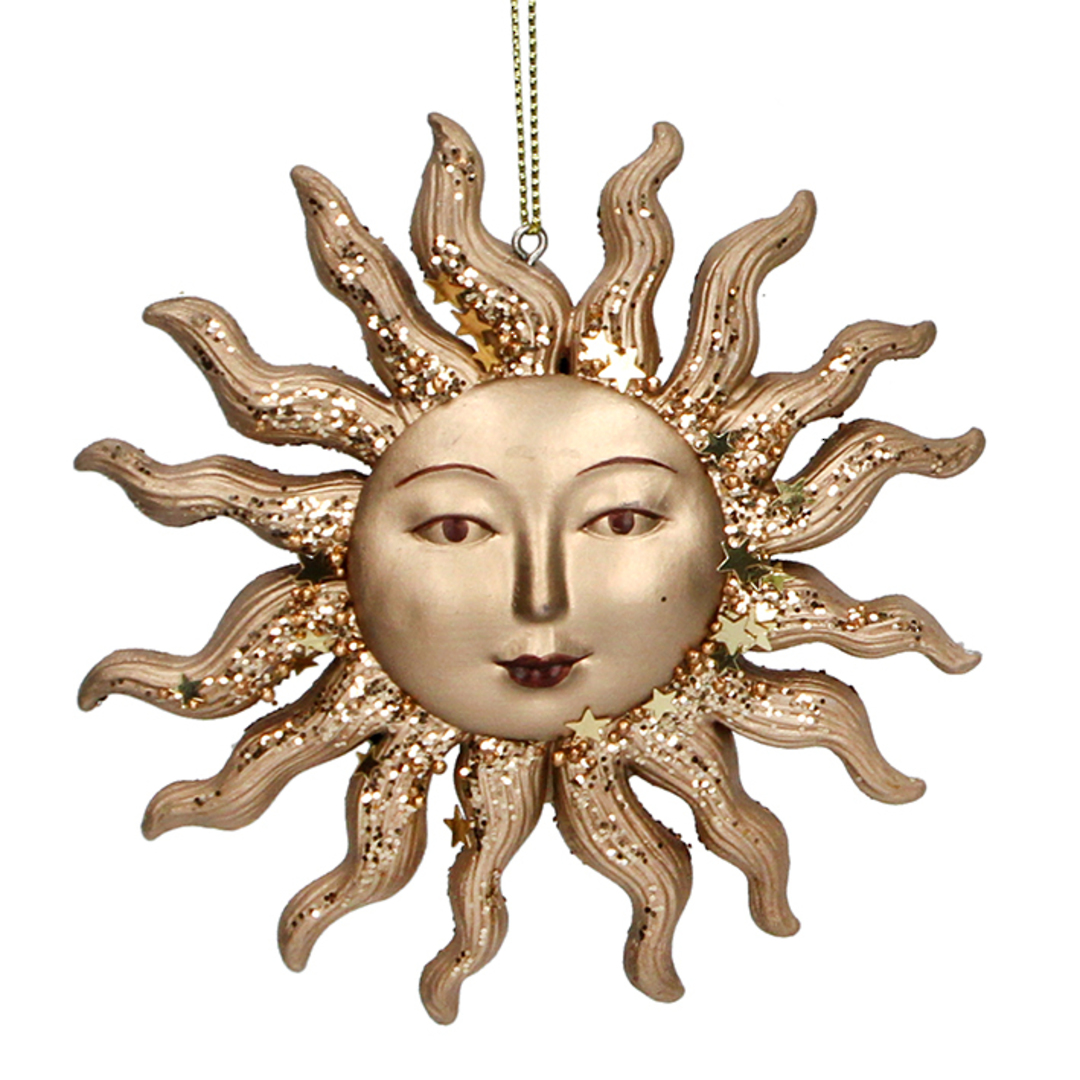 Resin Sun Face 10cm SOLD OUT image 0