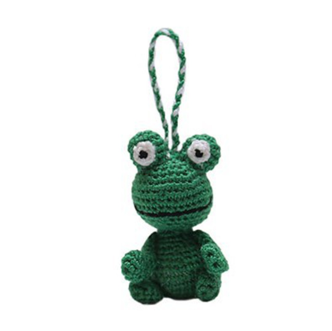 Mini Crocheted Frog image 0