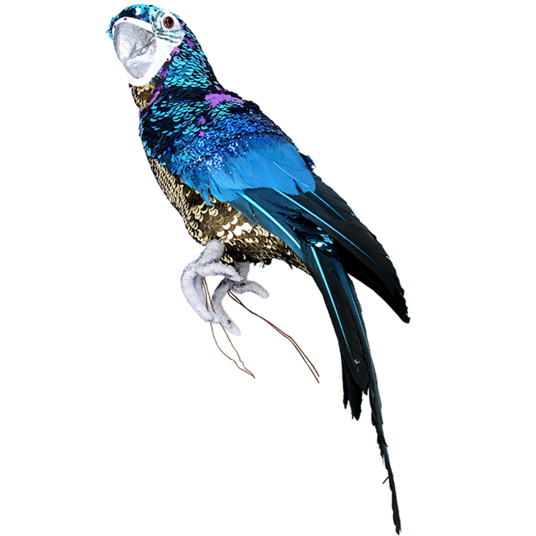 Party Blue Macaw 40cm SOLD OUT image 0