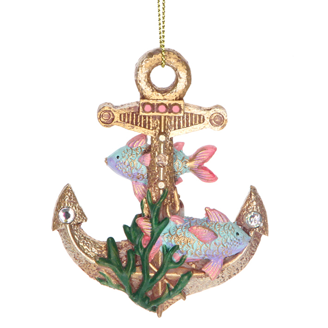 Resin Sea Kingdom Anchor 8cm image 0