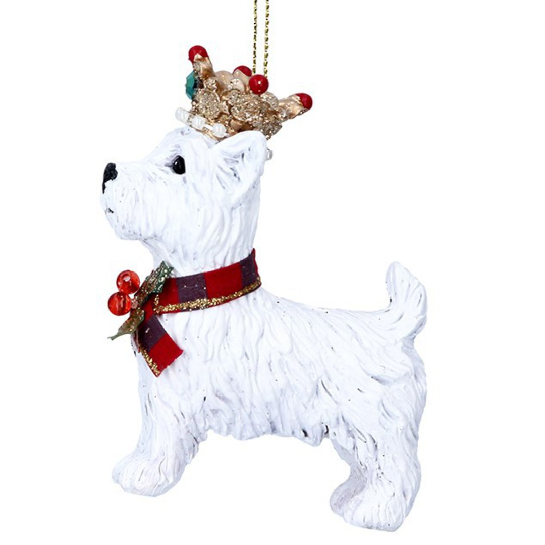 Resin West Highland Terrier 6cm image 0