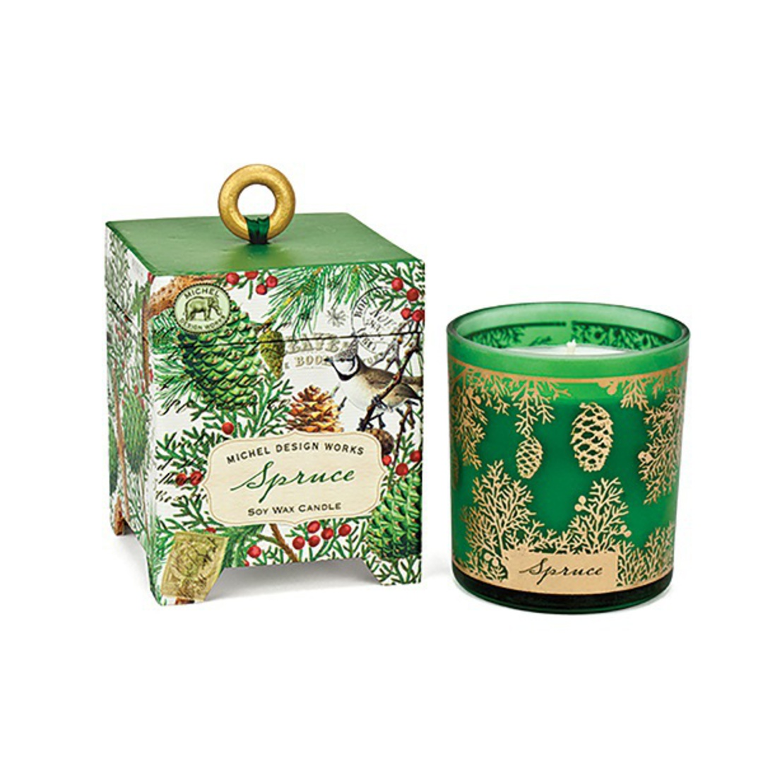 Christmas Spruce Soy Wax Candle image 0