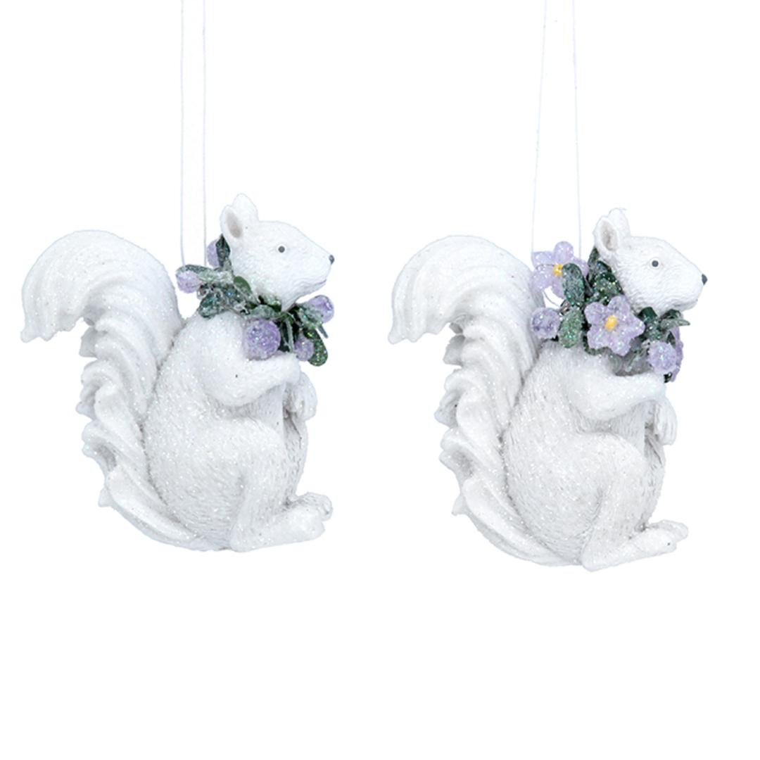 Resin Winter Dream Squirrel 6cm image 0