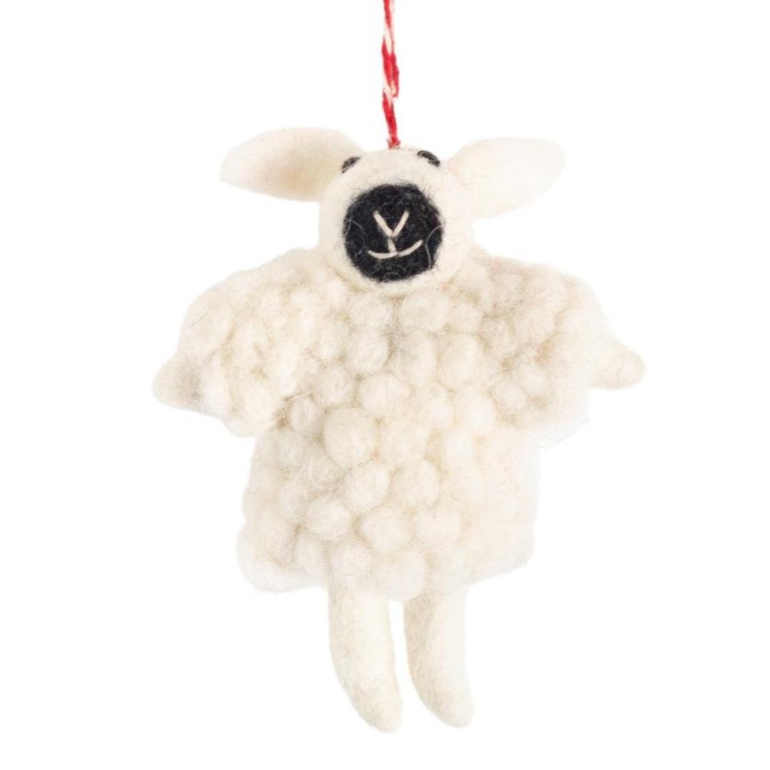 NZ Wool, Woolly Sheep 11x9cm image 0