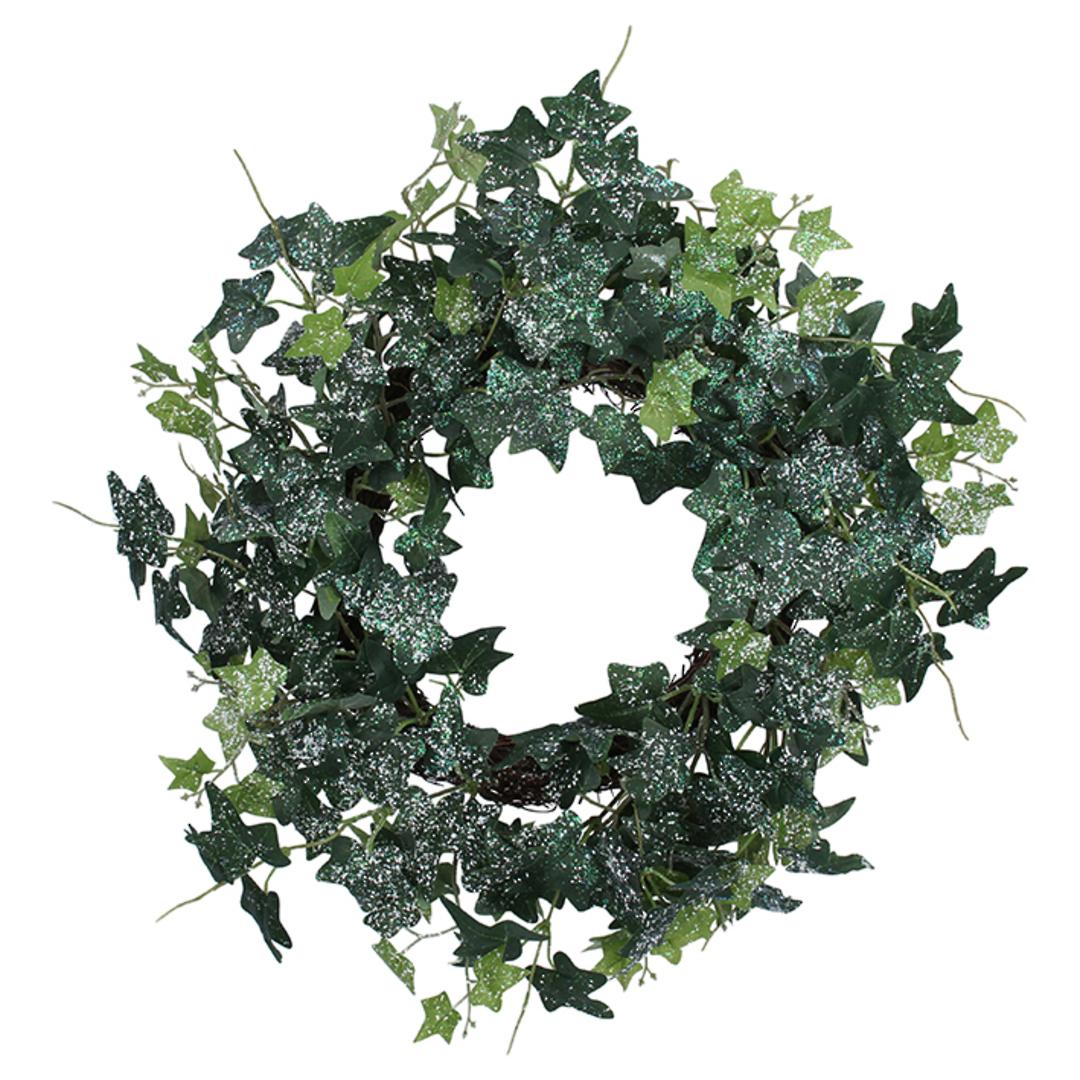 Icey Ivy Wreath 50cm image 0