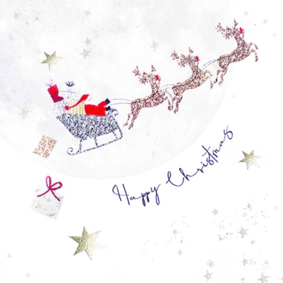 Paper Napkins 33cm, Santa's Ride image 0