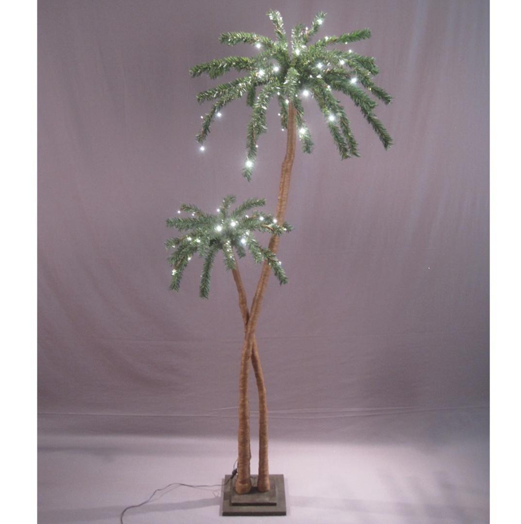 Coconut Palm Tree 1.8mtrs, 96 LED Lights image 0