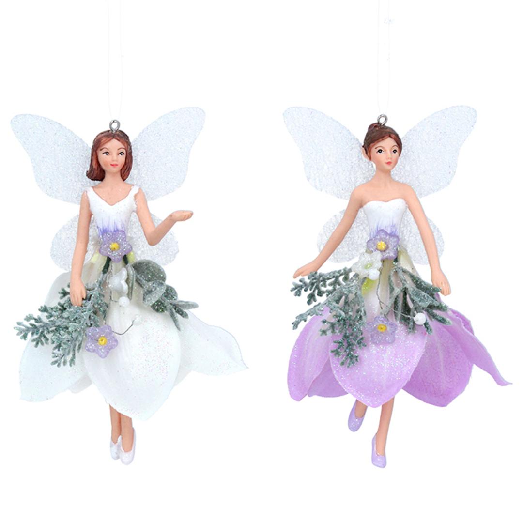 Resin Fabric Winter Dream Fairy Medium 14cm image 0