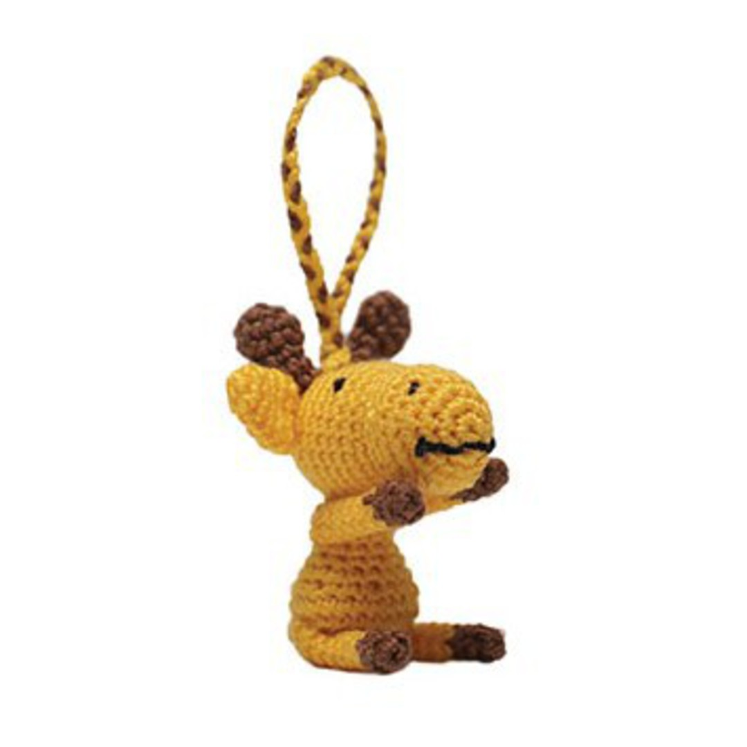 Mini Crocheted Giraffe image 0