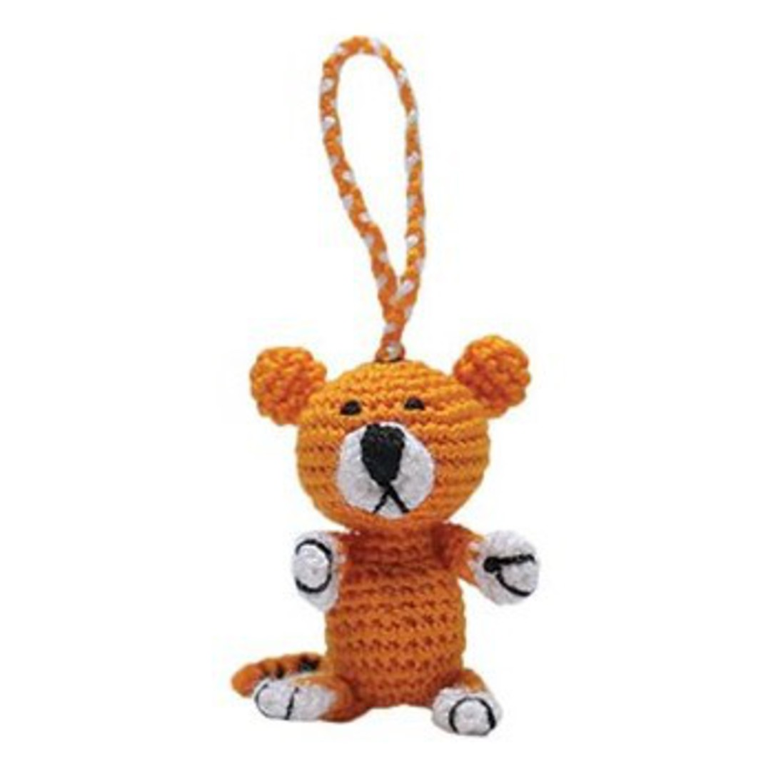 Mini Crocheted Tiger image 0
