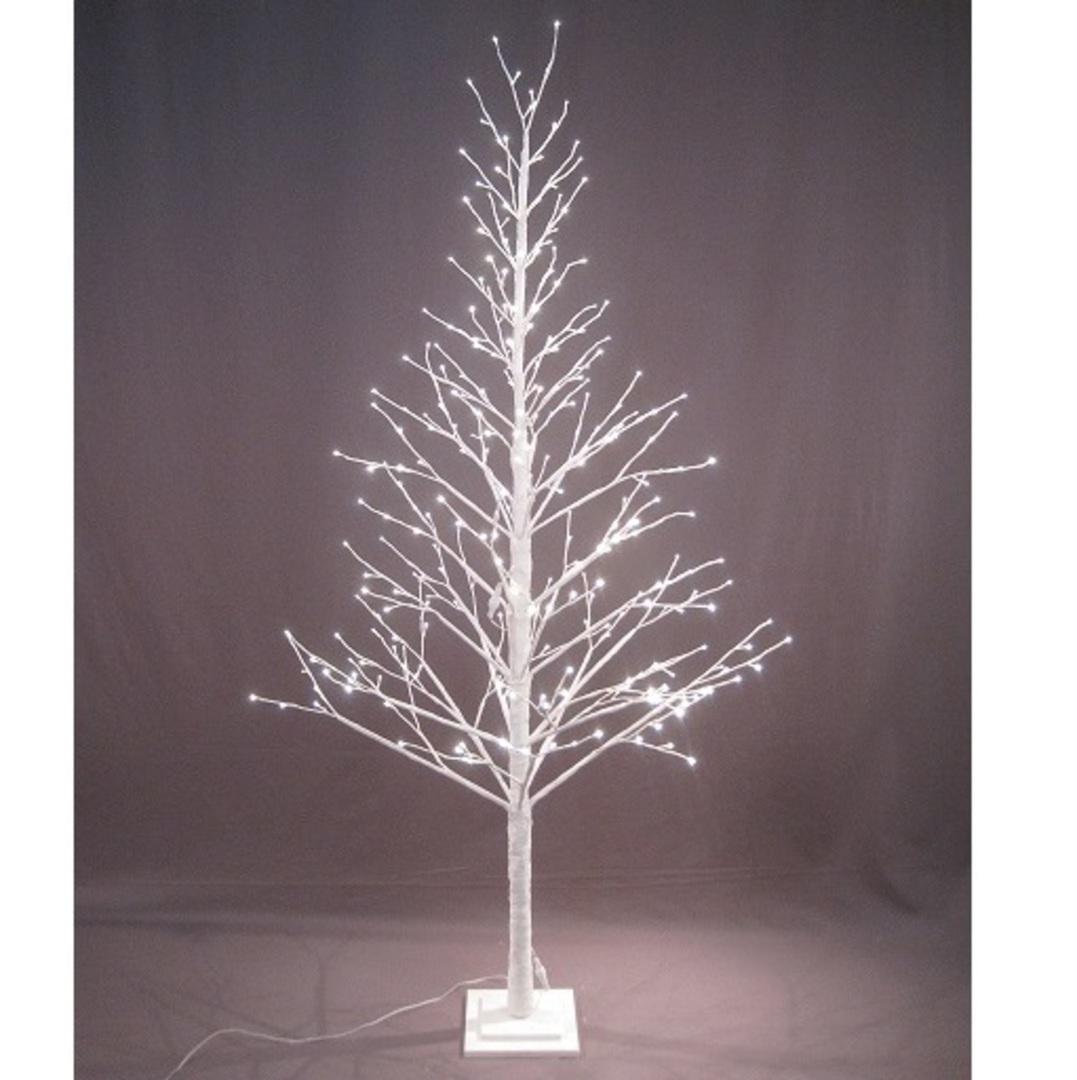 White Twig Tree 2.1mtr, 360 LED Lights image 0