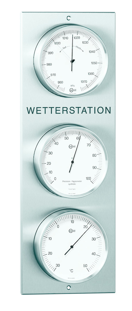 BM Outdoor Weather Station, White Dial image 0