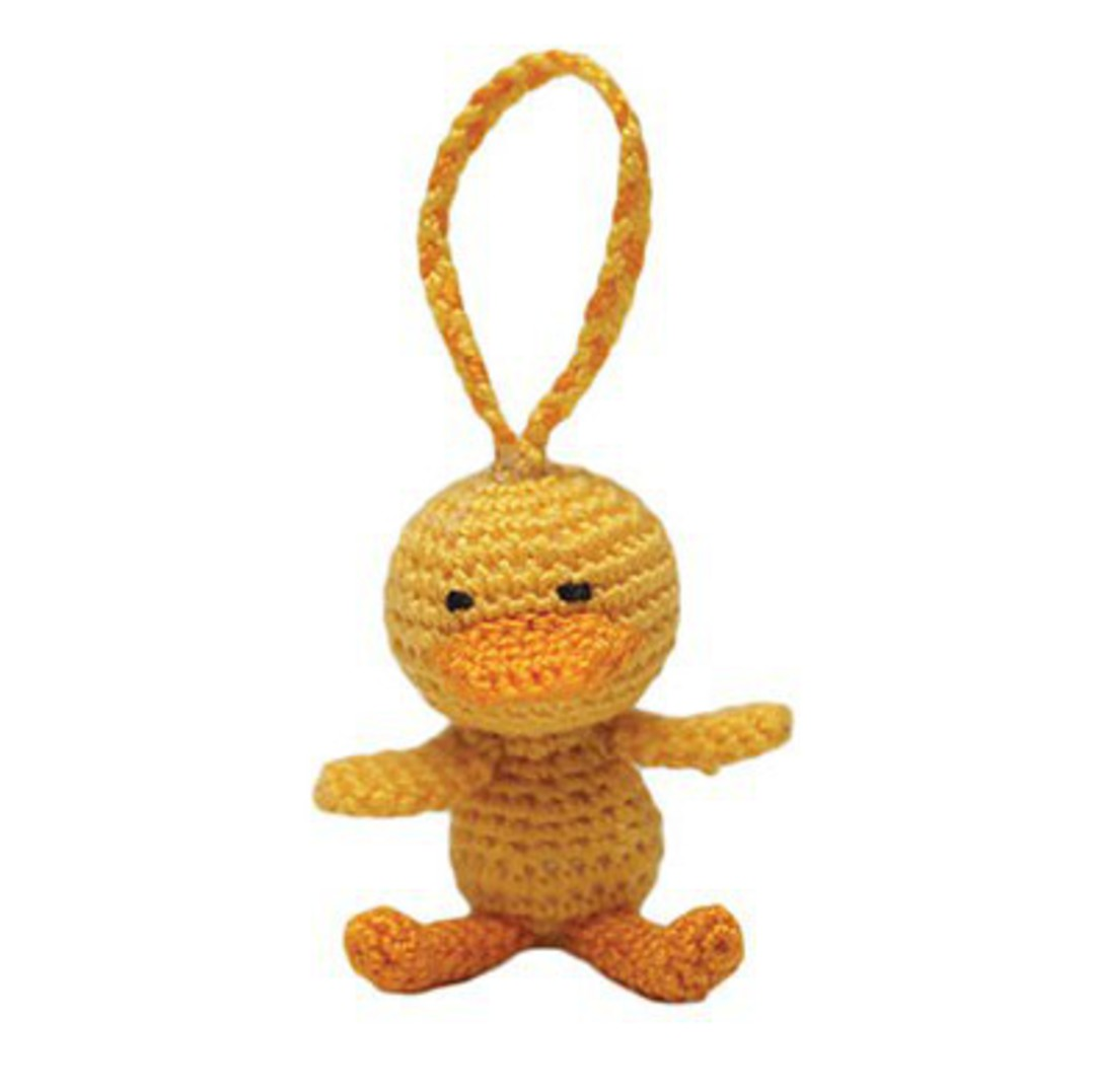 Mini Crocheted Duckling image 0