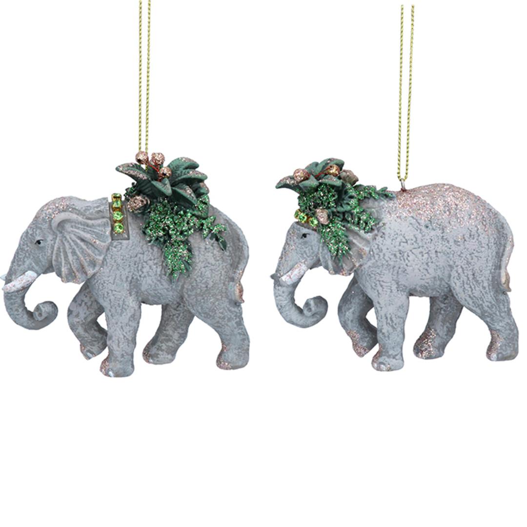 Resin Noble Jungle Elephant 8cm image 0