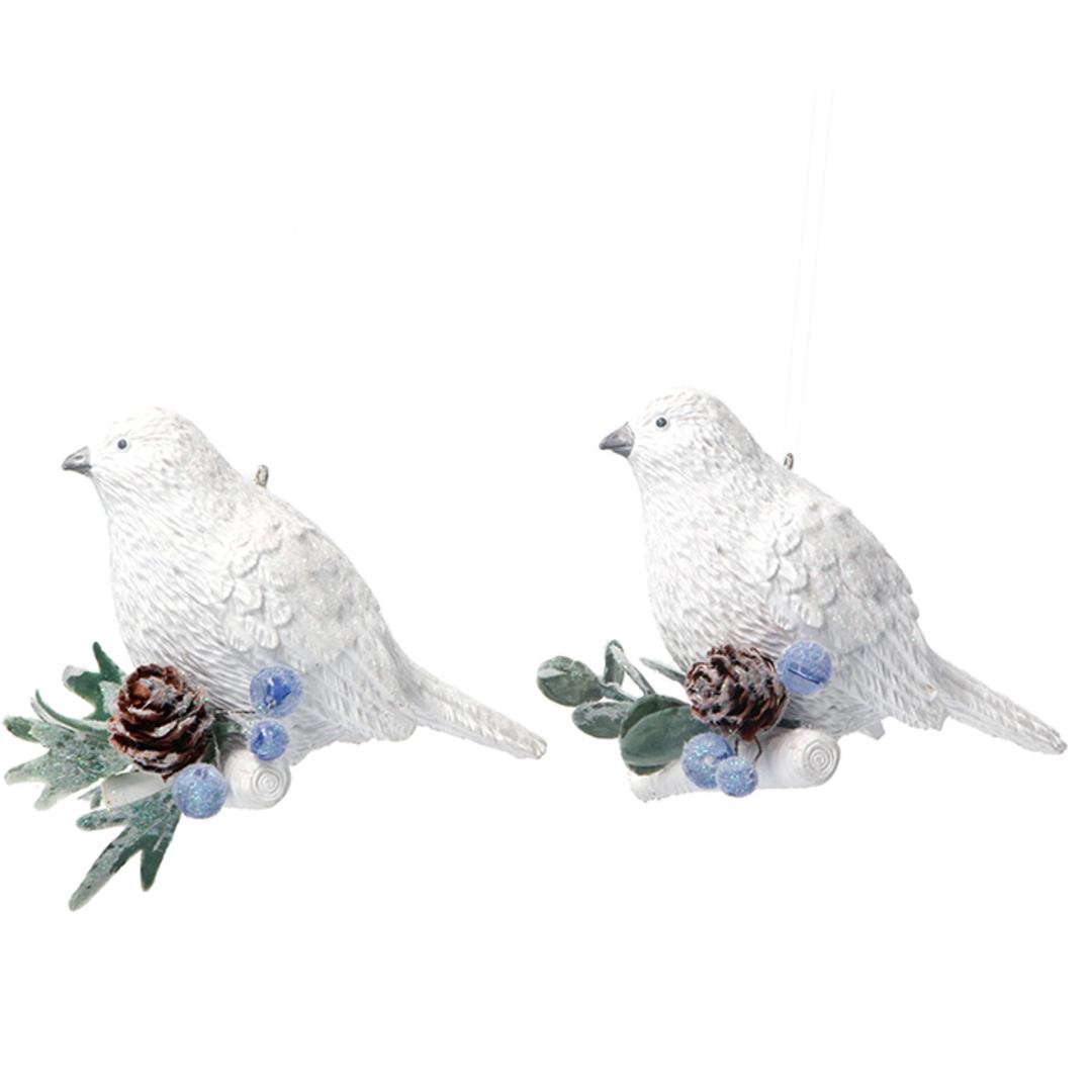 Resin Eucalytus Bird 8cm image 0