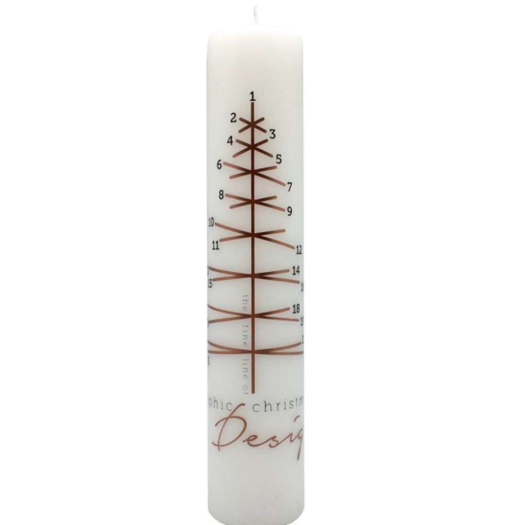 Advent Candle, Graphic Christmas Tree image 0