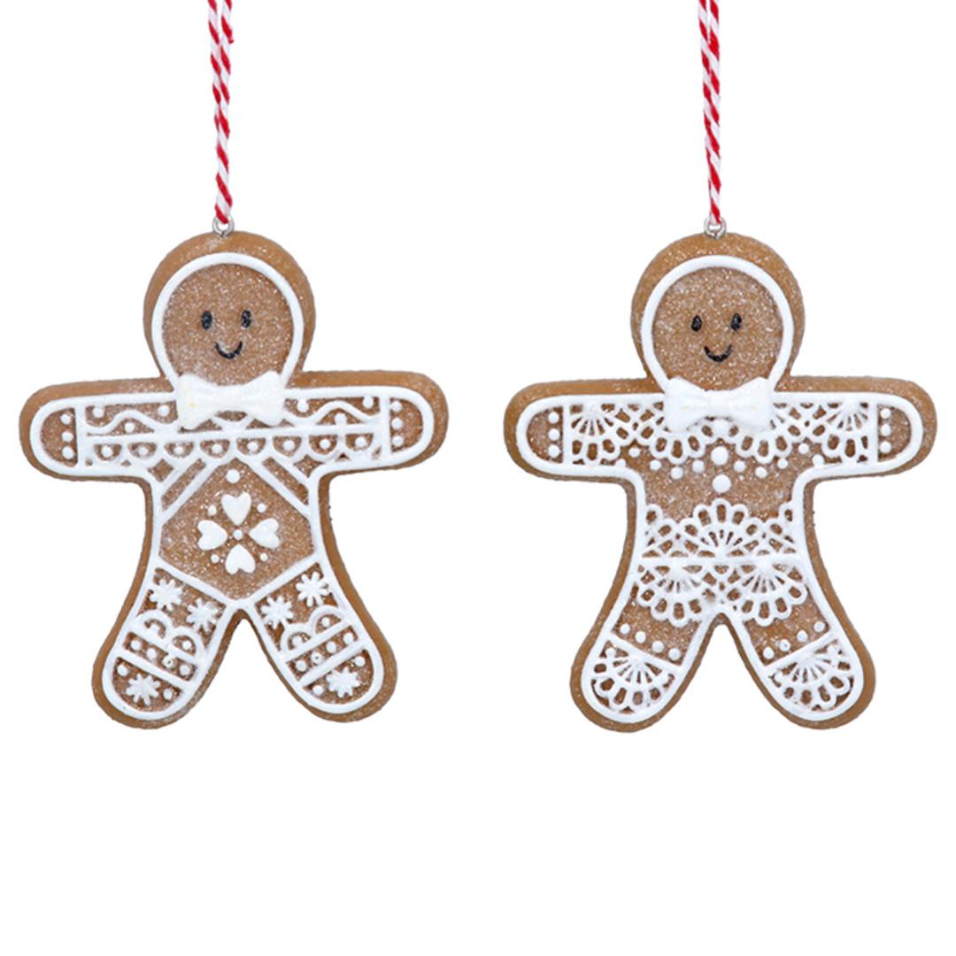 Resin Noel Gingerbread Man 8cm image 0
