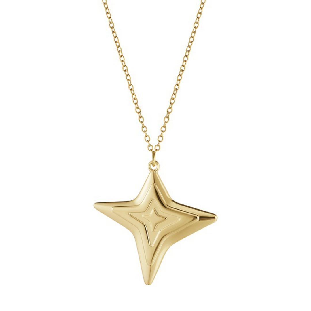 Georg Jensen Chain Ornament, 4 Point Star 2021 image 0