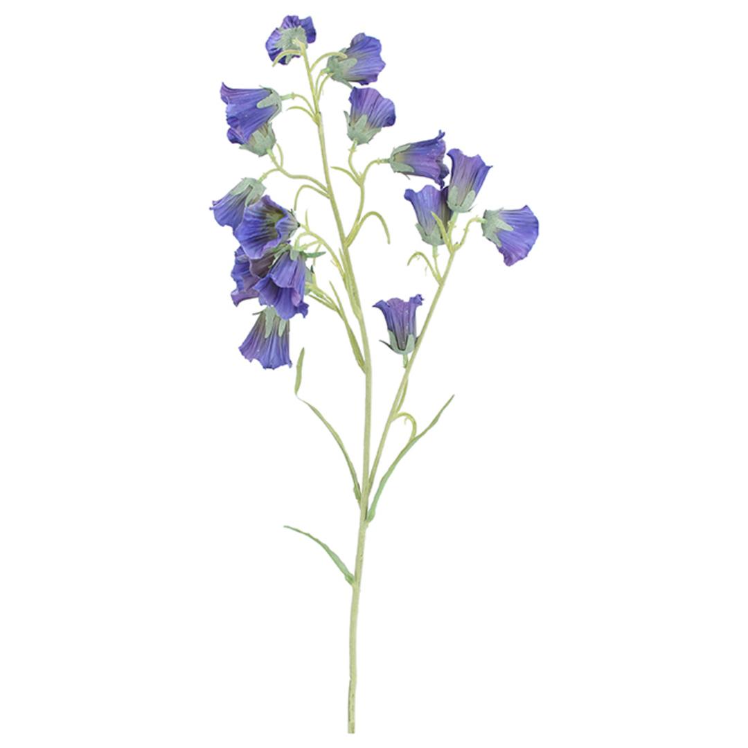 Blue Bell Flower Spray 78cm image 0