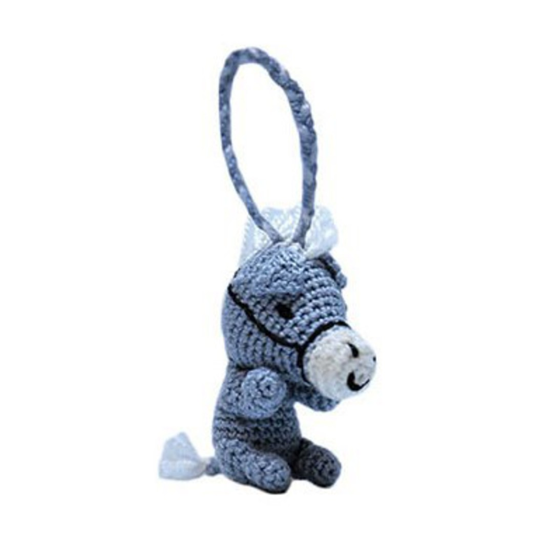 Mini Crocheted Horse image 0
