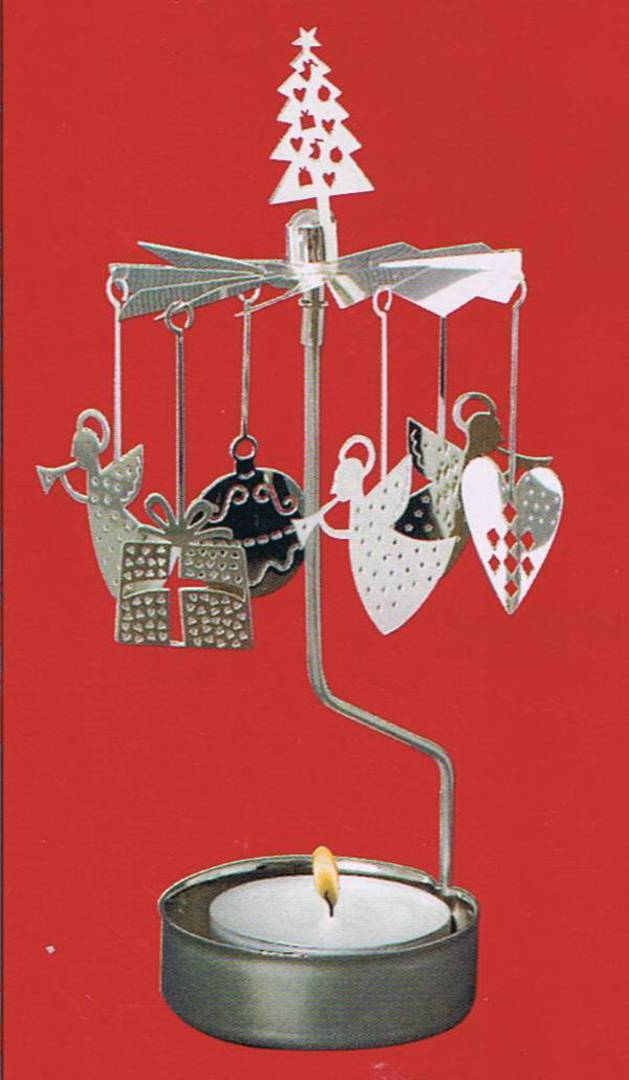 Rotary Candle Holder Christmas image 0