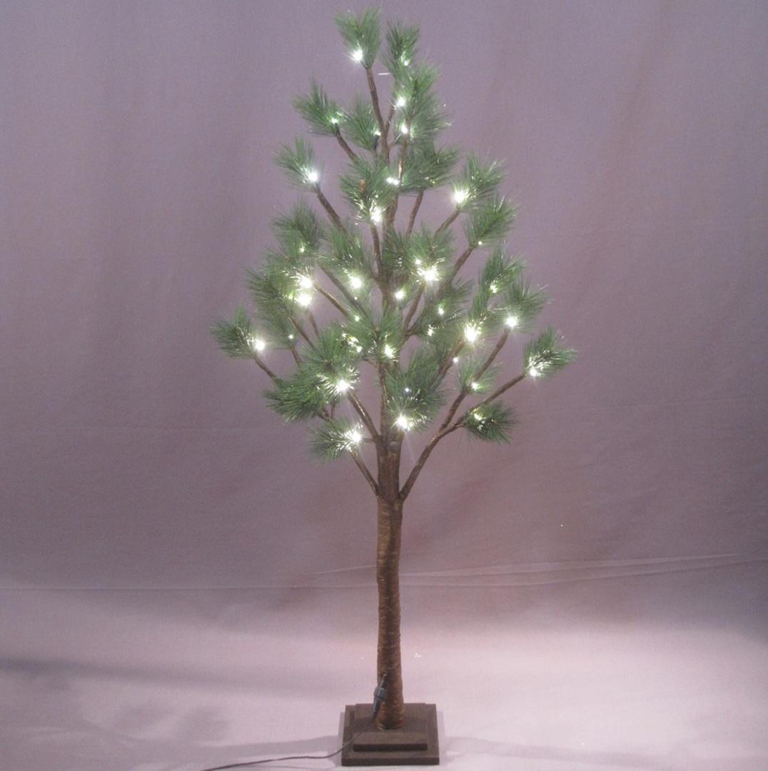 NZ Pine Tree 1.2mtrs, 48 LED Lights image 0