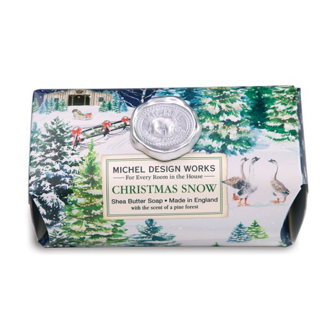 Christmas Snow Large Soap Bar SOLD OUT image 0