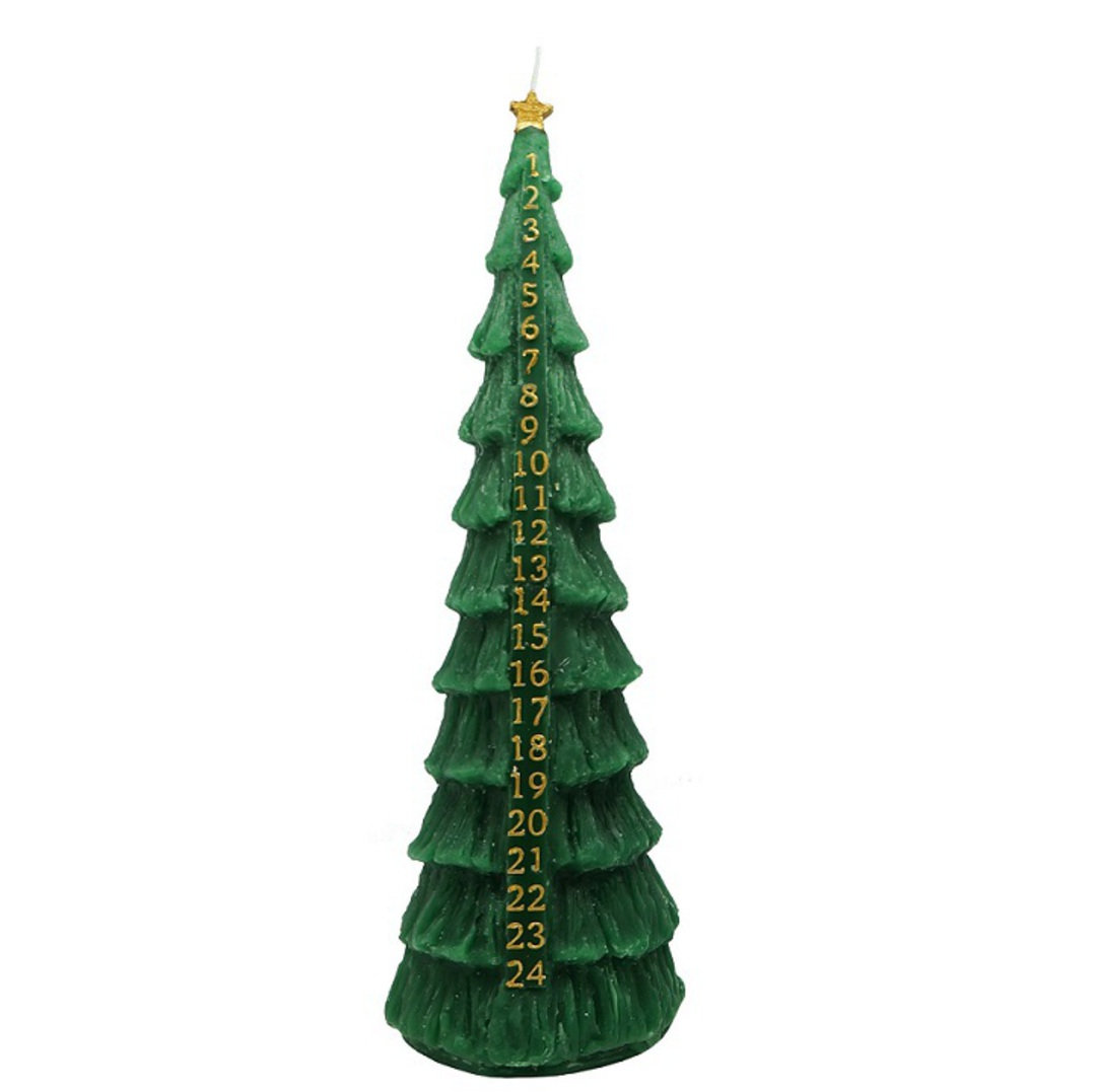 Advent Candle, Green Christmas Tree image 0