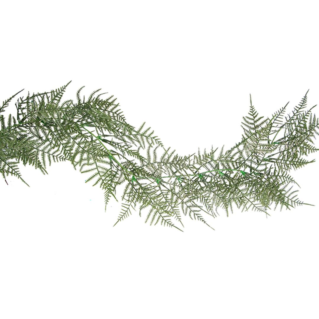 Green Fern Garland 1.8mtr image 0