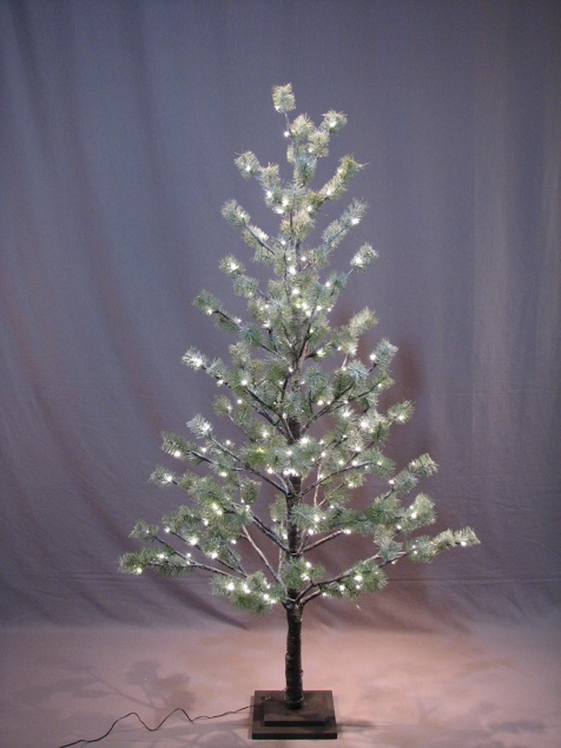 Icey Pine Tree 1.8mtr with 186 LED Lights SOLD OUT image 0