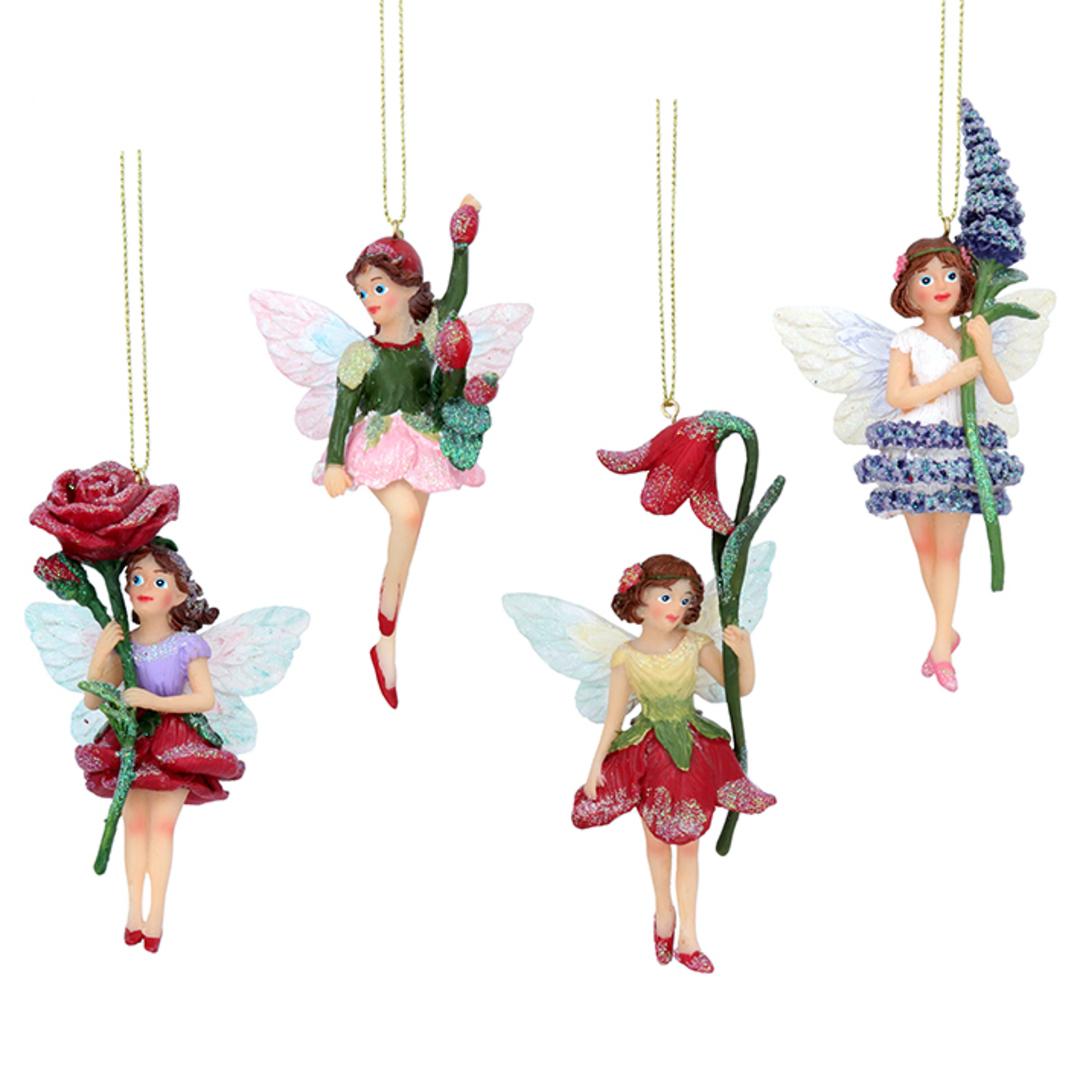 Resin Flower Fairy 12cm image 0