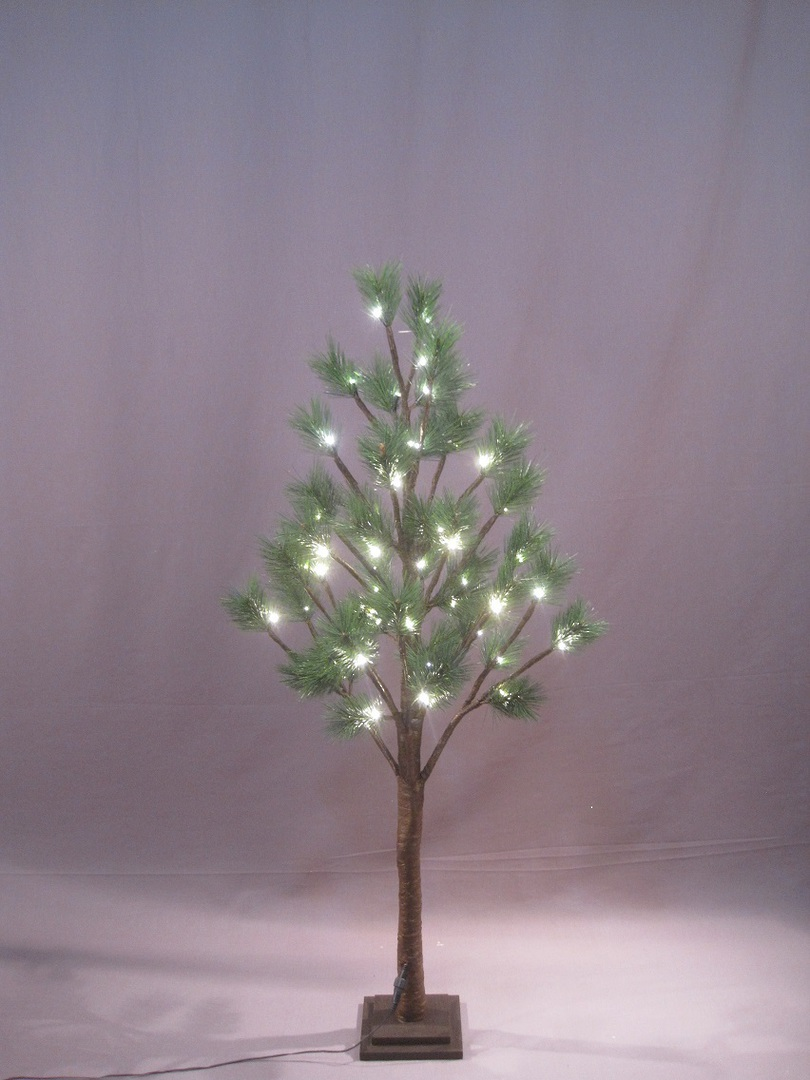 Pine Tree 1.2mtrs with 48 LED Lights image 0