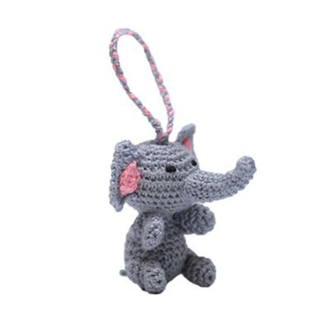 Mini Crocheted Elephant image 0