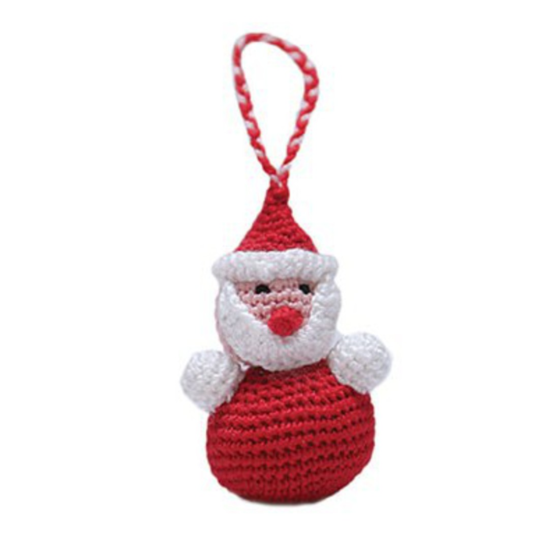 Mini Crocheted Santa image 0