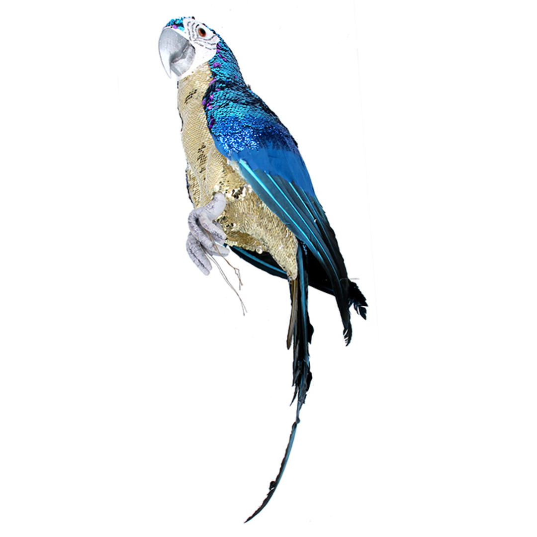 Party Blue Macaw 63cm SOLD OUT image 0