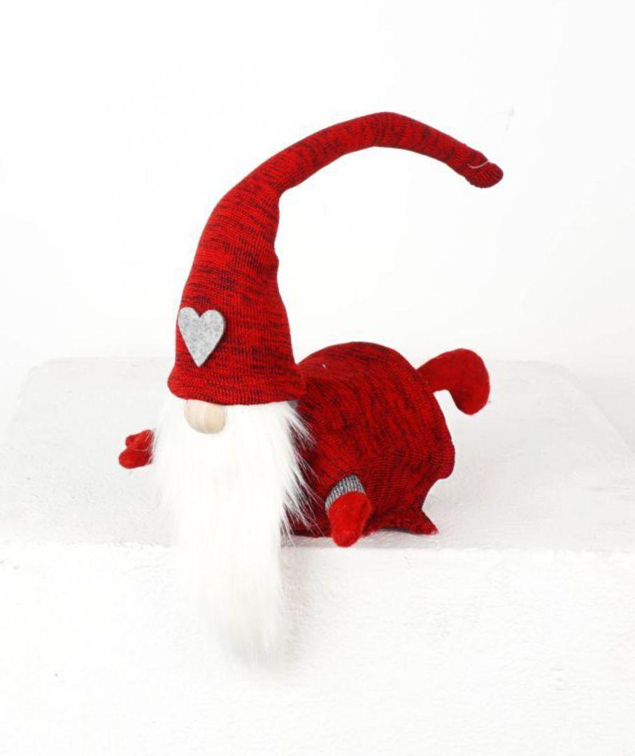 Santa on Tummy 24x22cm image 0