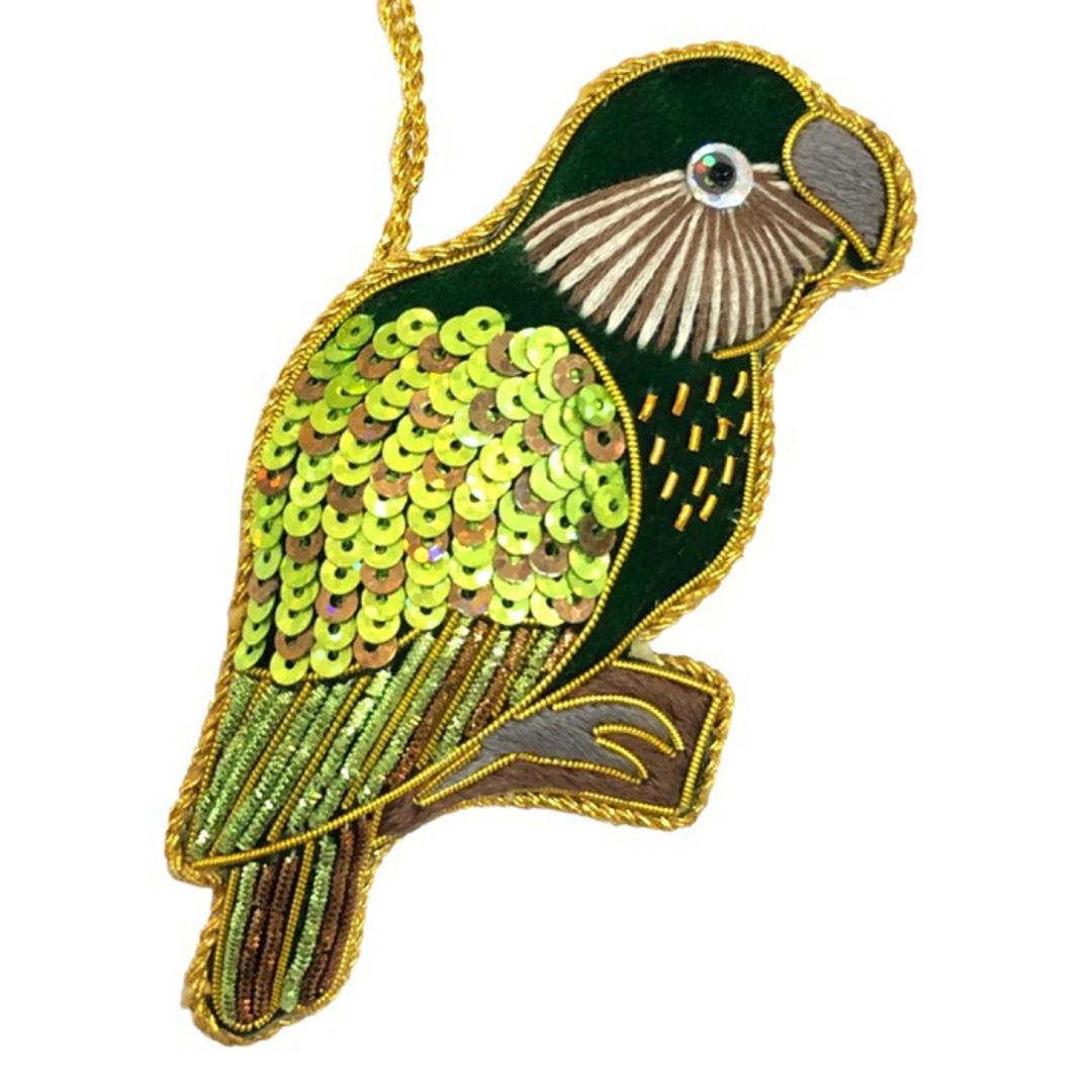 Hanging NZ Bird, Kakapo image 0