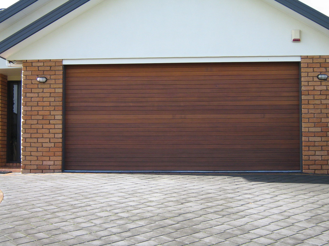 Cedar Sectional Doors image 1